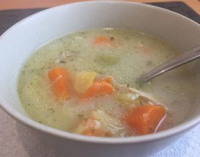 Grandma's Old Fashioned Chicken Soup