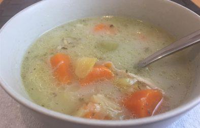 Grandma's Old Fashioned Chicken Soup