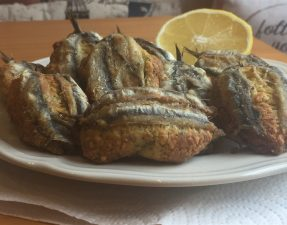 Boquerones Rellenos - Stuffed Anchovy Fillets